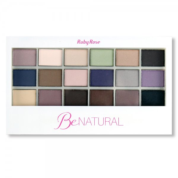 Paleta de Sombras Be Natural  Ruby Rose