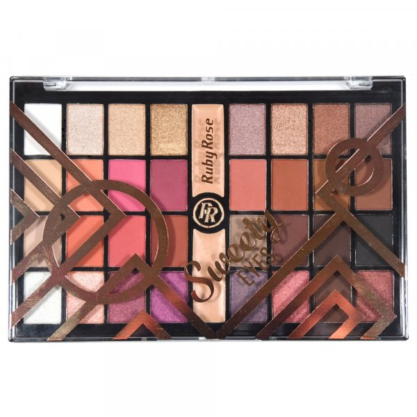 Paleta de Sombras Sweety Eyes Ruby Rose